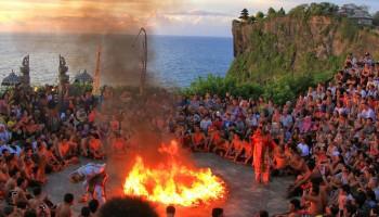 Kecak Fire Dance at Uluwatu