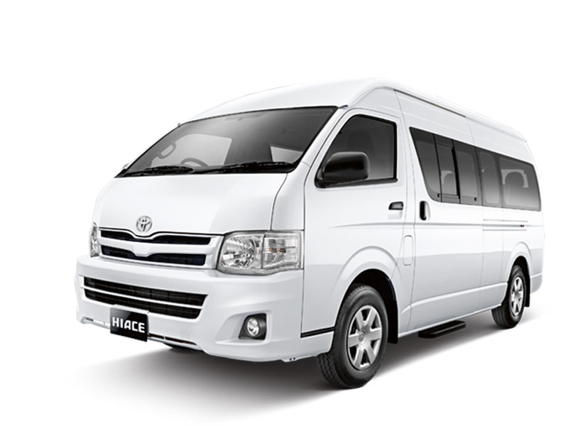 Toyota Hiace - Airport Transfer, Shuttle Bus Group, Tour ...